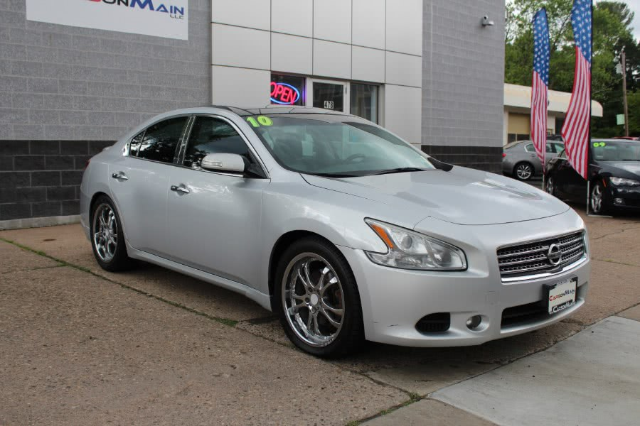 2010 Nissan Maxima 4dr Sdn V6 CVT 3.5 SV w/Sport Pkg, available for sale in Manchester, Connecticut   Carsonmain LLC. Manchester, Connecticut