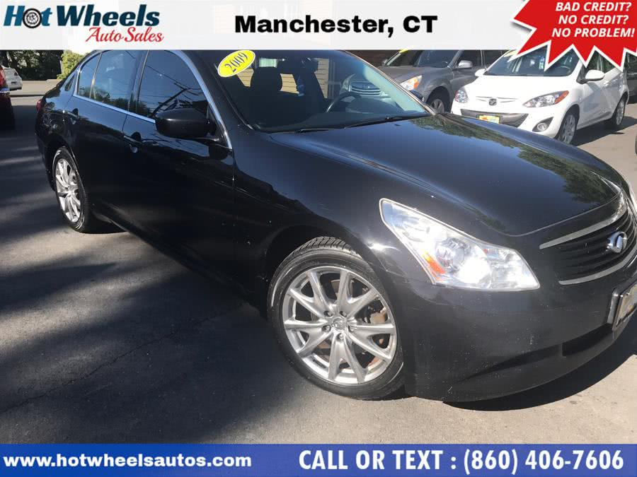 Used Infiniti G37 Sedan 4dr x AWD 2009 | Hot Wheels Auto Sales LLC. Manchester, Connecticut