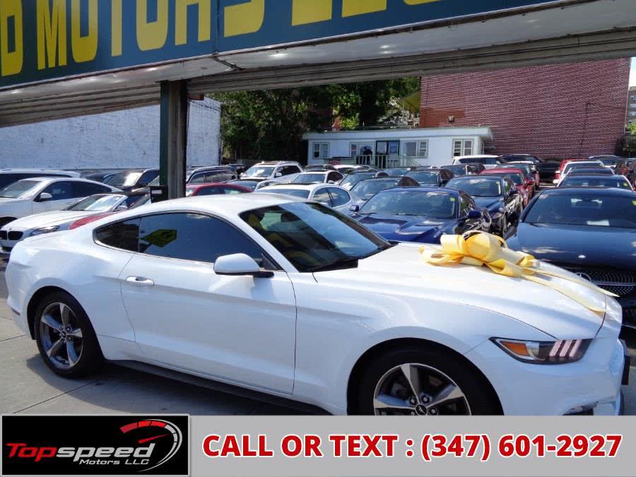 Used 2015 Ford Mustang Ecoboost in Jamaica, New York | Top Speed Motors LLC. Jamaica, New York
