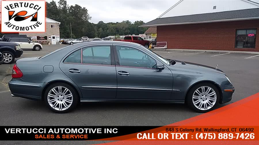 2007 Mercedes-Benz E-Class 4dr Sdn 3.5L 4MATIC, available for sale in Wallingford, Connecticut | Vertucci Automotive Inc. Wallingford, Connecticut