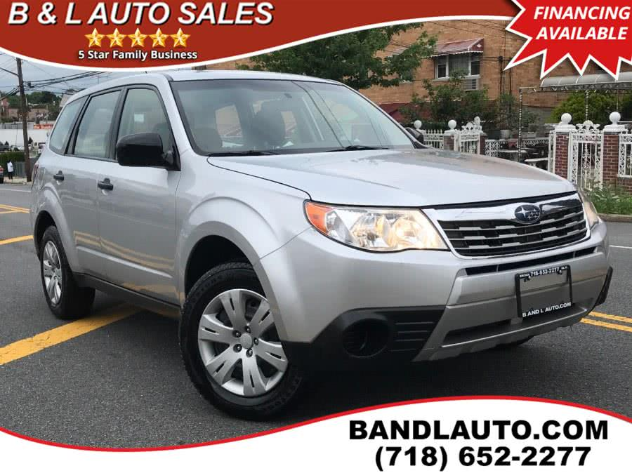 Used 2009 Subaru Forester in Bronx, New York   B & L Auto Sales LLC. Bronx, New York