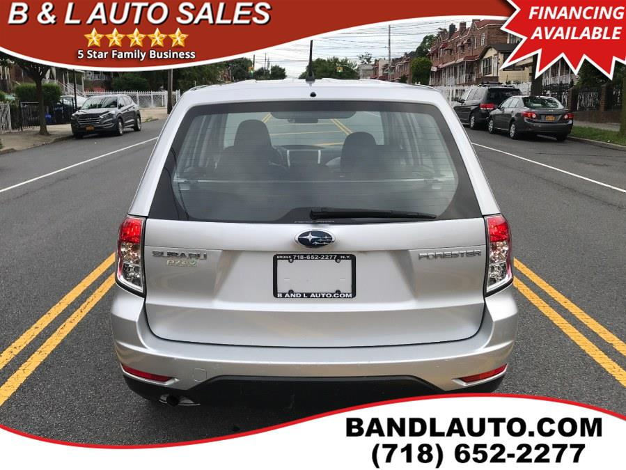 2009 Subaru Forester 4dr 2.5X Auto, available for sale in Bronx, New York   B & L Auto Sales LLC. Bronx, New York