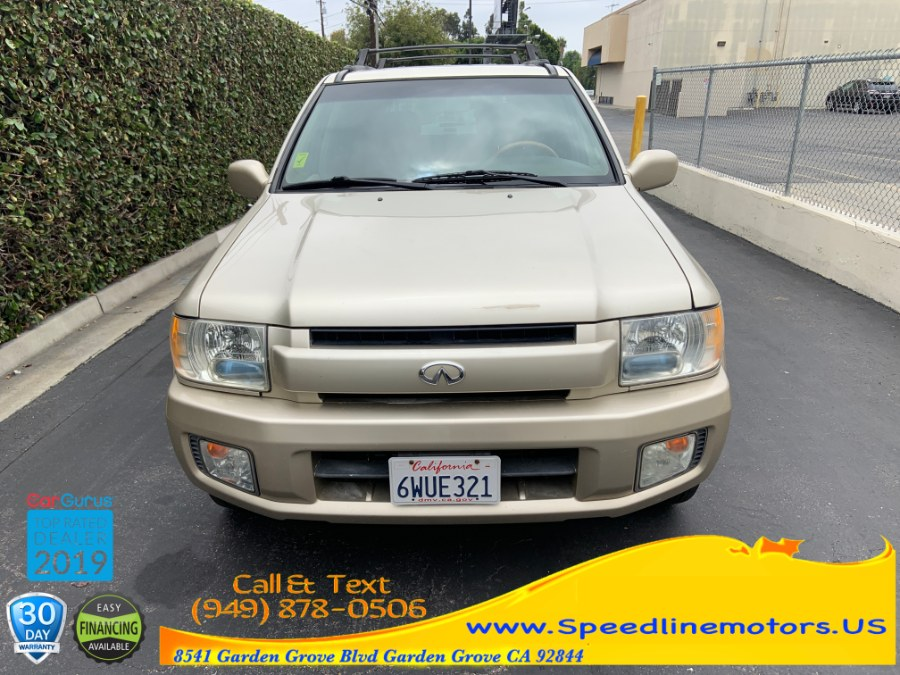 2001 Infiniti QX4 4dr SUV Luxury 4WD, available for sale in Garden Grove, California | Speedline Motors. Garden Grove, California