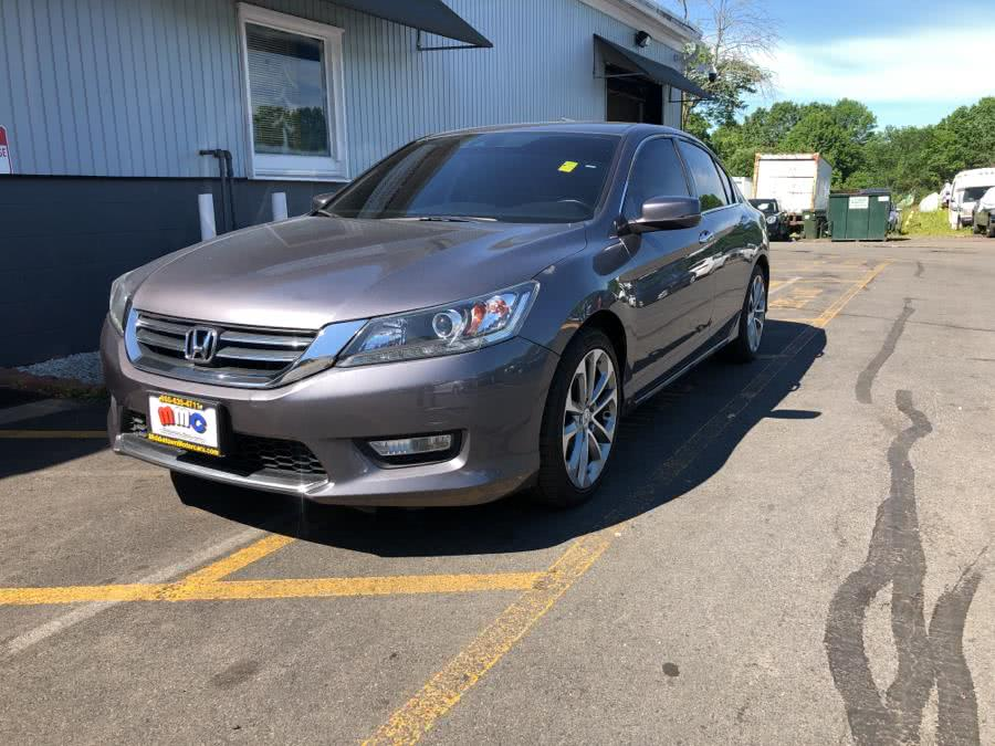 Used Honda Accord Sedan 4dr V6 Auto EX-L w/Navi 2015 | RT 3 AUTO MALL LLC. Middletown, Connecticut