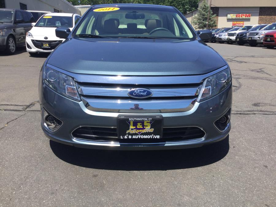 2011 Ford Fusion 4dr Sdn SEL FWD, available for sale in Plantsville, Connecticut | L&S Automotive LLC. Plantsville, Connecticut