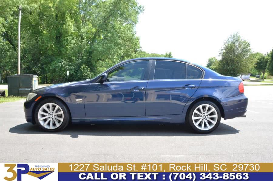 Used BMW 3 Series 4dr Sdn 328i xDrive AWD SULEV 2011 | 3 Points Auto Sales. Rock Hill, South Carolina