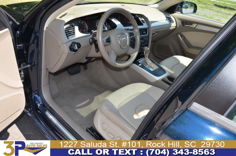 2011 Audi A4 4dr Sdn CVT FrontTrak 2.0T Premium, available for sale in Rock Hill, South Carolina   3 Points Auto Sales. Rock Hill, South Carolina