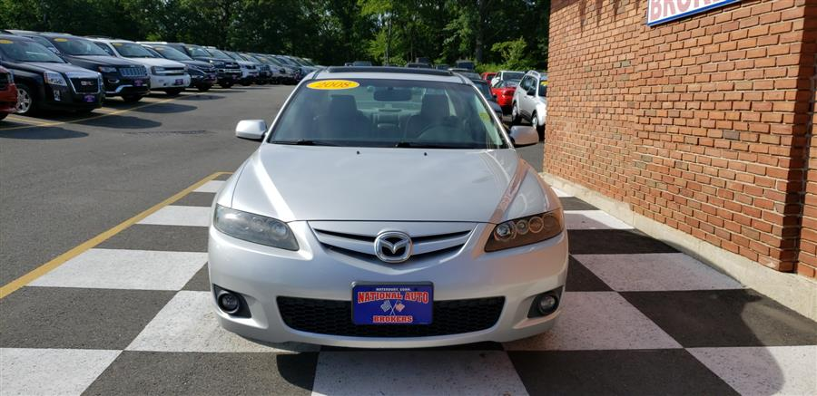 2008 Mazda Mazda6 4dr Sdn Auto S Touring, available for sale in Waterbury, Connecticut   National Auto Brokers, Inc.. Waterbury, Connecticut
