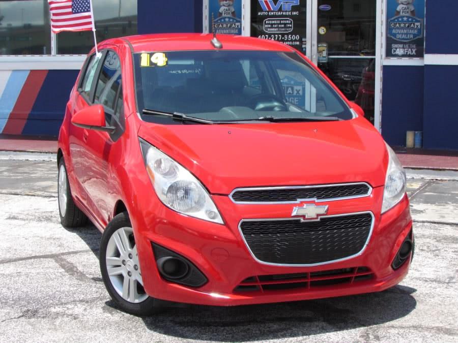 Used Chevrolet Spark 5dr HB CVT LT w/1LT 2014 | VIP Auto Enterprise, Inc. Orlando, Florida