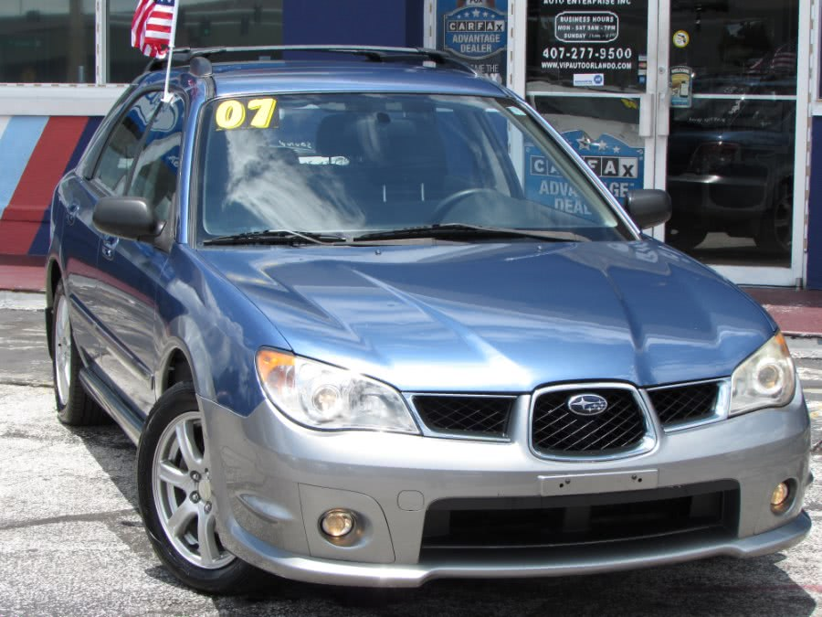 Used Subaru Impreza Wagon 4dr H4 AT Outback Sport Sp Ed 2007 | VIP Auto Enterprise, Inc. Orlando, Florida
