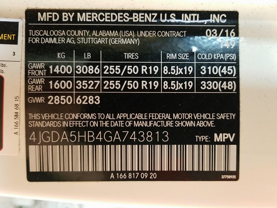 2016 Mercedes-benz Gle 4MATIC 4dr GLE 350, available for sale in Brooklyn, New York | E Cars . Brooklyn, New York