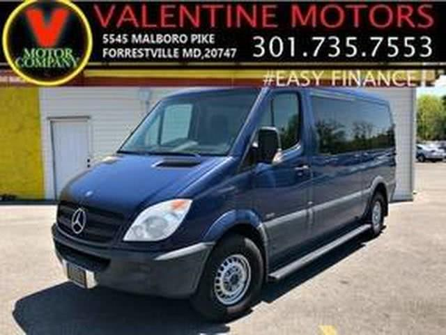 Used 2010 Mercedes-benz Sprinter Passenger Vans in Forestville, Maryland | Valentine Motor Company. Forestville, Maryland