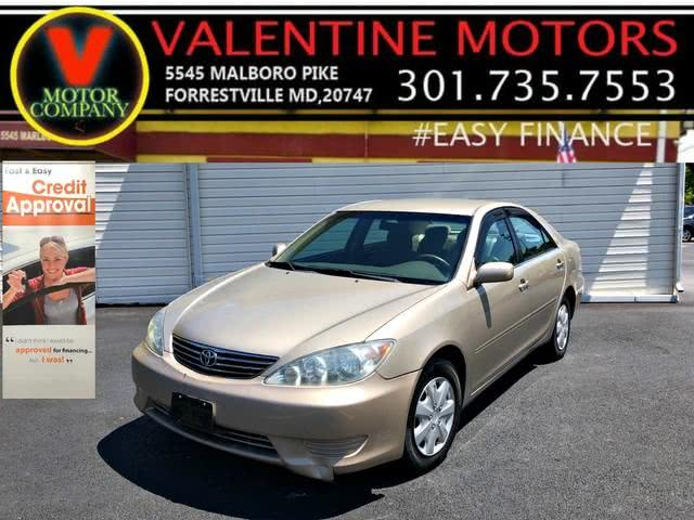Used 2005 Toyota Camry in Forestville, Maryland | Valentine Motor Company. Forestville, Maryland
