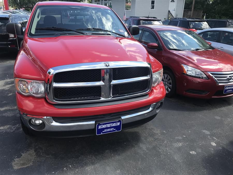 2004 Dodge Ram 1500 QUAD  SLT QUAD CAB, available for sale in Manchester, New Hampshire | Second Street Auto Sales Inc. Manchester, New Hampshire