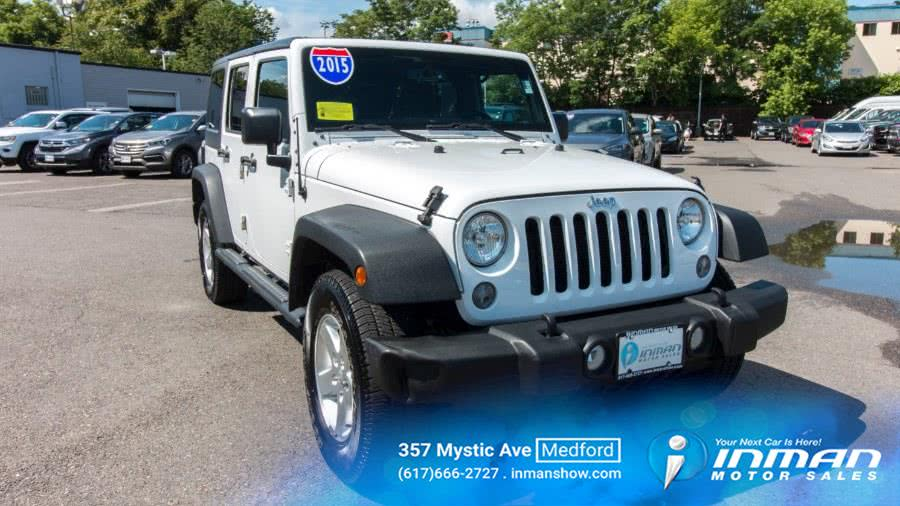 Used 2015 Jeep Wrangler in Medford, Massachusetts | Inman Motors Sales. Medford, Massachusetts