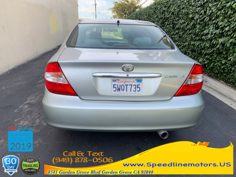 2003 Toyota Camry 4dr Sdn LE Auto, available for sale in Garden Grove, California | Speedline Motors. Garden Grove, California