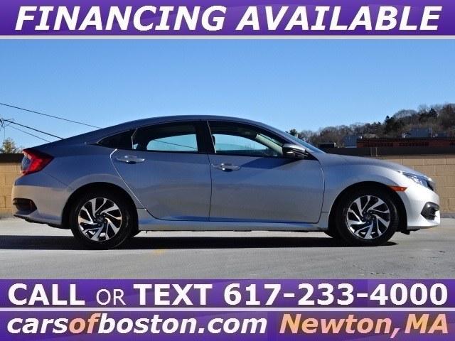 2016 Honda Civic Sedan 4dr CVT EX, available for sale in Newton, Massachusetts | Motorcars of Boston. Newton, Massachusetts