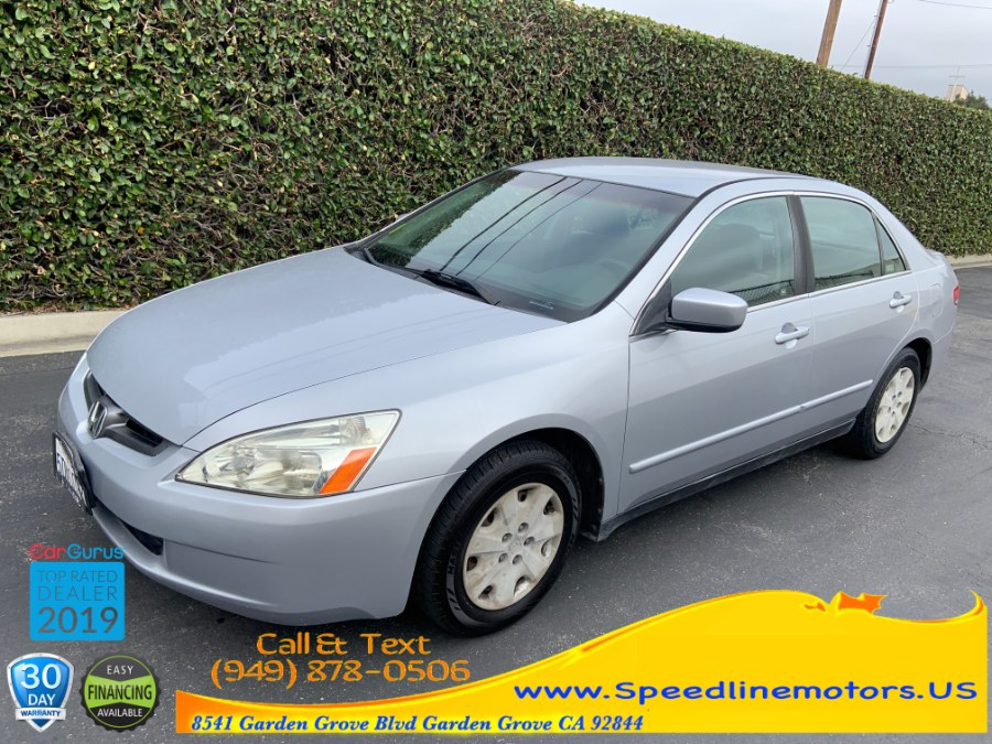 2003 Honda Accord Sdn LX Auto, available for sale in Garden Grove, California | Speedline Motors. Garden Grove, California
