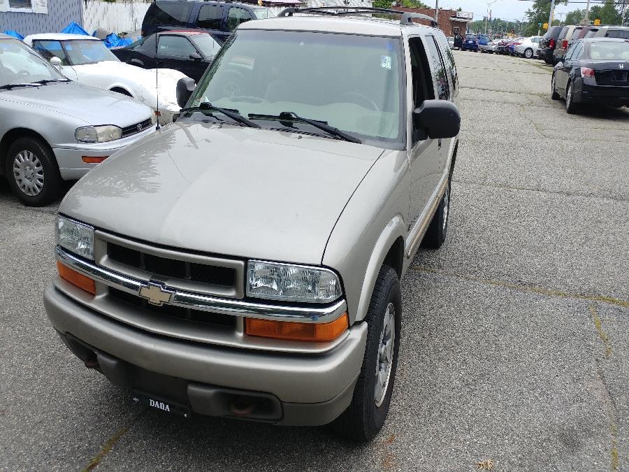 2004 Chevrolet Blazer 4dr 4WD LS, available for sale in Chicopee, Massachusetts | Matts Auto Mall LLC. Chicopee, Massachusetts