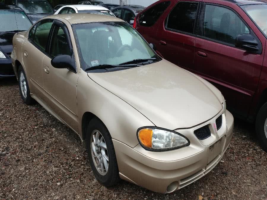 Used Pontiac Grand Am 4dr Sdn SE1 2003 | Matts Auto Mall LLC. Chicopee, Massachusetts