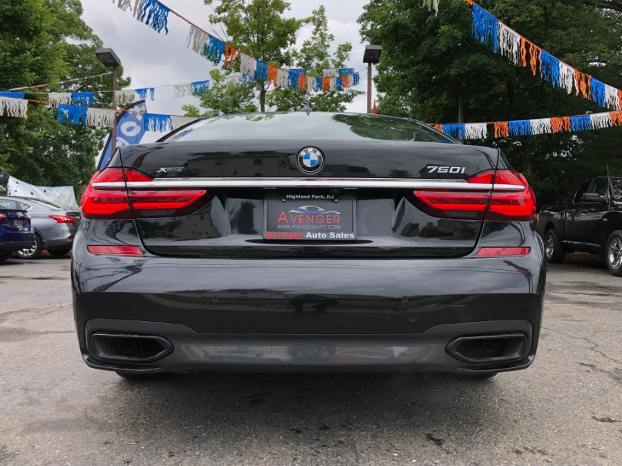 2016 BMW 7 Series 4dr Sdn 750i xDrive M Sport Package AWD, available for sale in Highland Park , New Jersey | Avenger Auto Sales . Highland Park , New Jersey