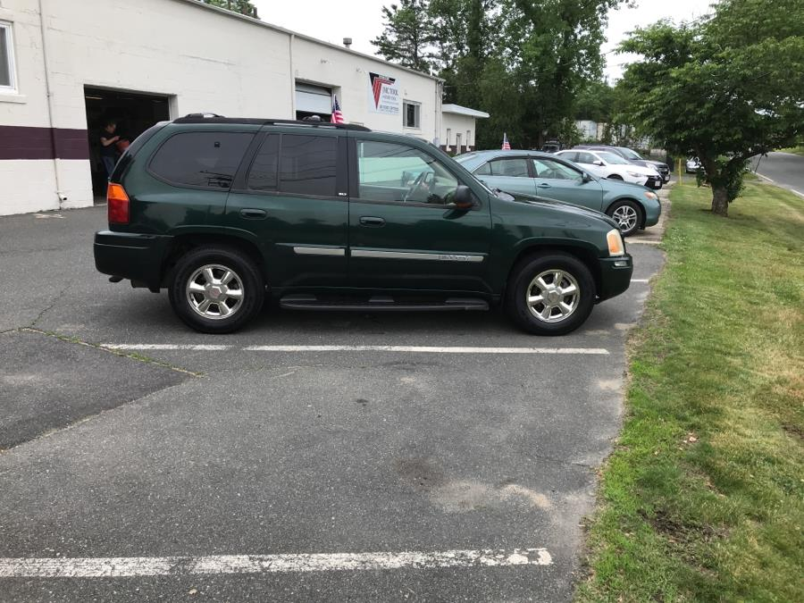 2002 GMC Envoy 4dr 4WD SLT, available for sale in Springfield, Massachusetts | The Car Company. Springfield, Massachusetts