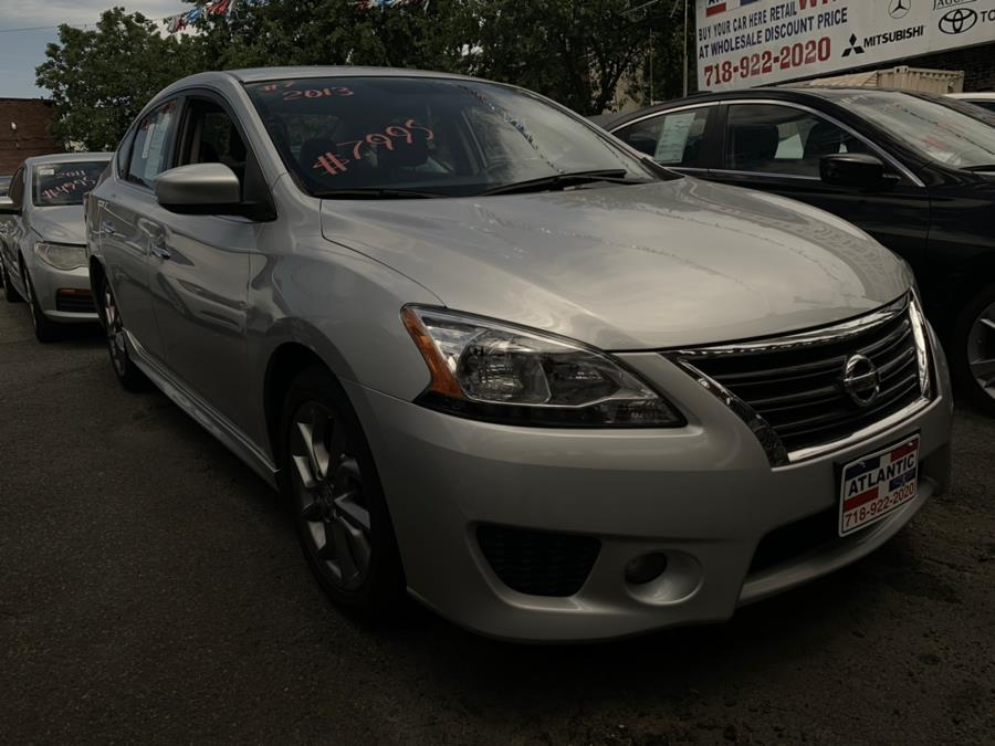 2013 Nissan Sentra 4dr Sdn I4 CVT SV, available for sale in Brooklyn, New York | Atlantic Used Car Sales. Brooklyn, New York