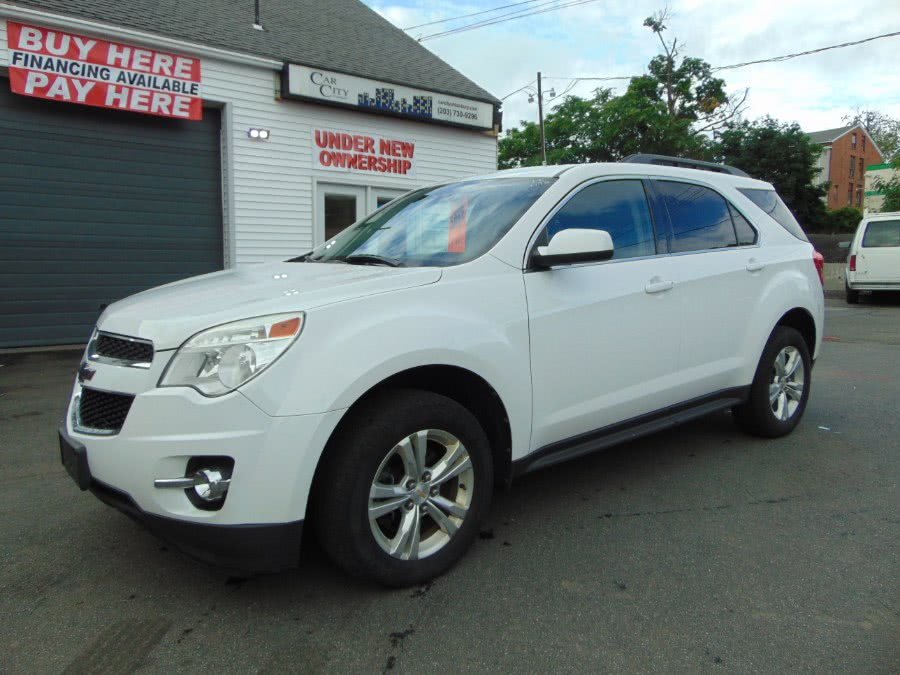 2012 Chevrolet Equinox AWD 4dr LT w/2LT, available for sale in Danbury, CT
