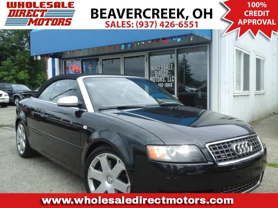 Used 2005 Audi S4 in Beavercreek, Ohio | Wholesale Direct Motors. Beavercreek, Ohio