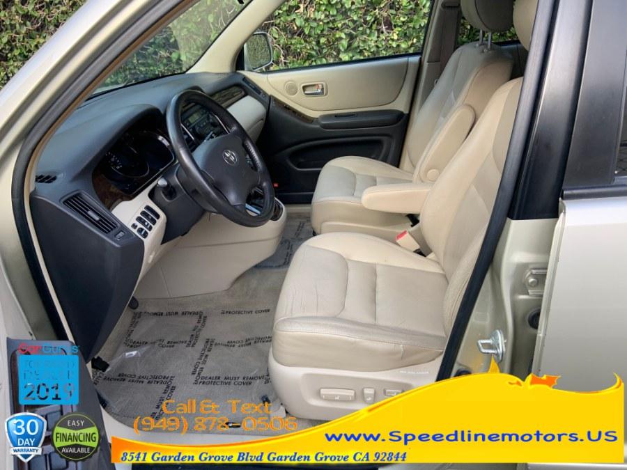 2001 Toyota Highlander 4dr V6 4WD, available for sale in Garden Grove, California | Speedline Motors. Garden Grove, California