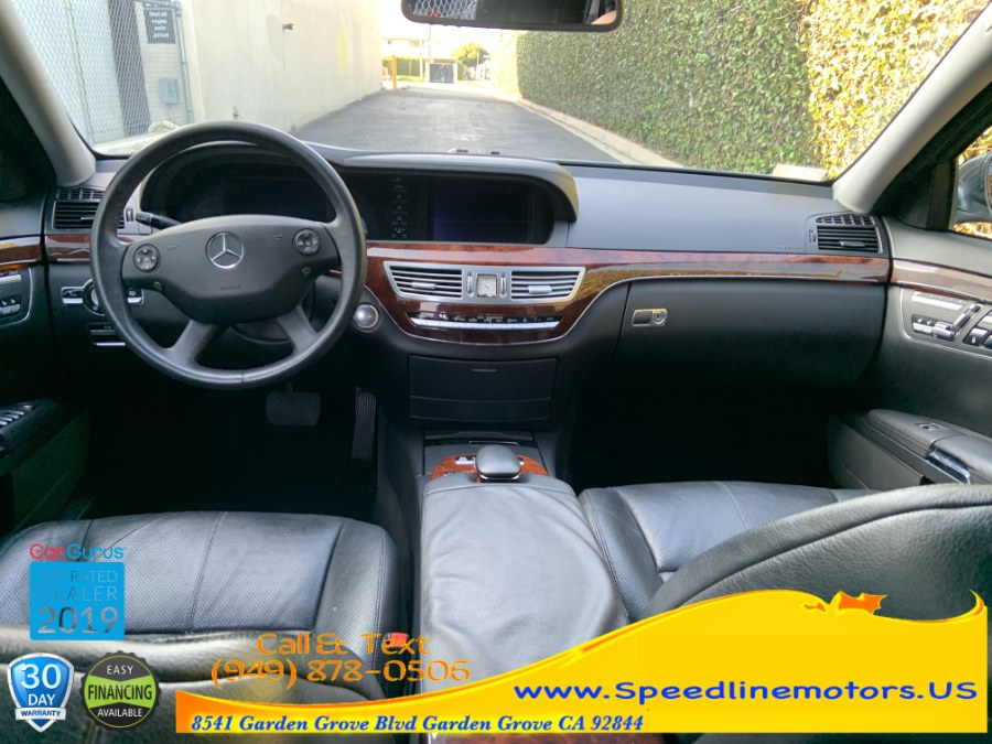 2007 Mercedes-Benz S-Class 4dr Sdn 5.5L V8 RWD, available for sale in Garden Grove, California | Speedline Motors. Garden Grove, California