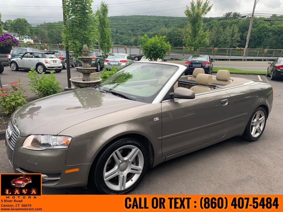 2008 Audi A4 2dr Cabriolet Auto 2.0T quattro, available for sale in Canton, Connecticut | Lava Motors. Canton, Connecticut