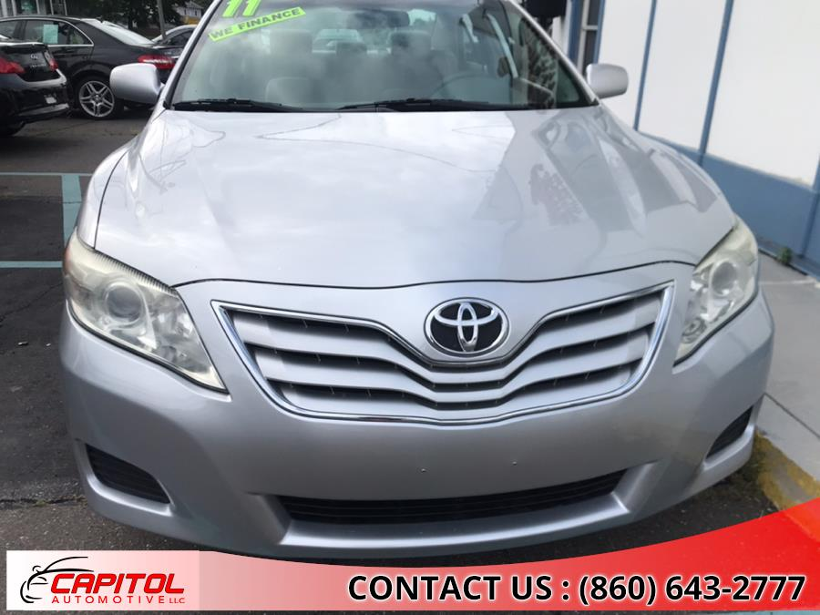 2011 Toyota Camry 4dr Sdn I4 Auto LE (Natl), available for sale in Manchester, Connecticut | Capitol Automotive 2 LLC. Manchester, Connecticut