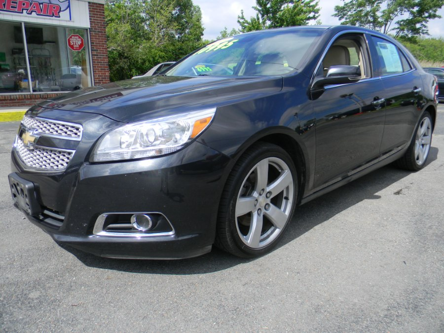 2013 Chevrolet Malibu 4dr Sdn LTZ w/2LZ, available for sale in Southborough, Massachusetts | M&M Vehicles Inc dba Central Motors. Southborough, Massachusetts
