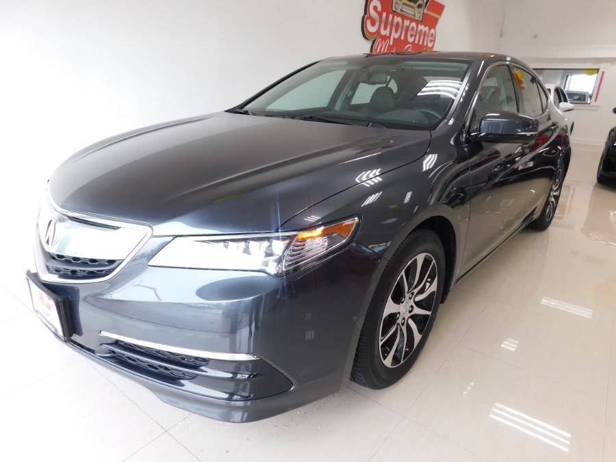 Used 2016 Acura TLX in Elizabeth, New Jersey | Supreme Motor Sport. Elizabeth, New Jersey