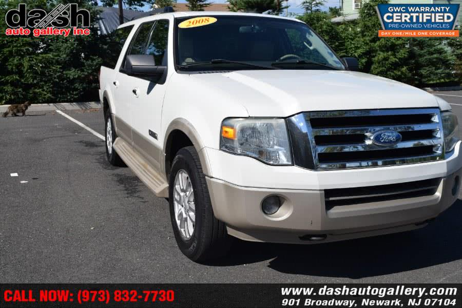 2008 Ford Expedition EL 4WD 4dr Eddie Bauer, available for sale in Newark, NJ