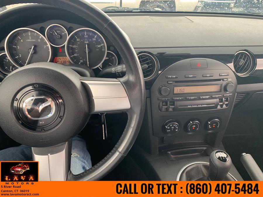 Used Mazda MX-5 Miata 2dr Conv Manual Sport 2007 | Lava Motors. Canton, Connecticut