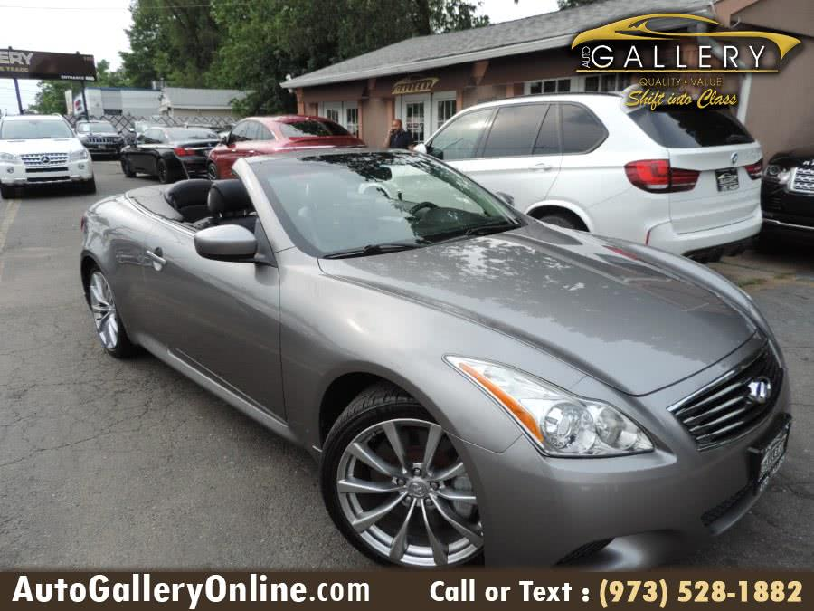 Used 2009 Infiniti G37 Convertible in Lodi, New Jersey | Auto Gallery. Lodi, New Jersey