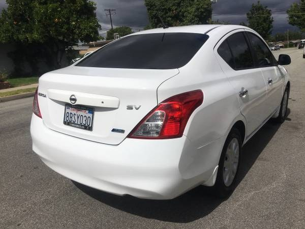 Used Nissan Versa 4dr Sdn CVT 1.6 SL 2012 | Carmir. Orange, California