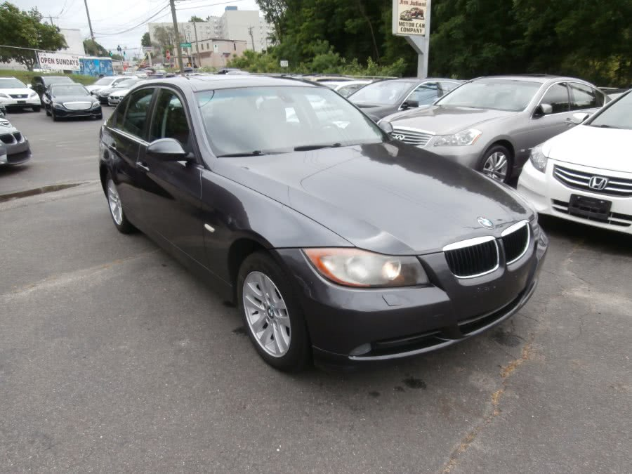 2007 BMW 3 Series 4dr Sdn 328xi AWD SULEV, available for sale in Waterbury, Connecticut | Jim Juliani Motors. Waterbury, Connecticut