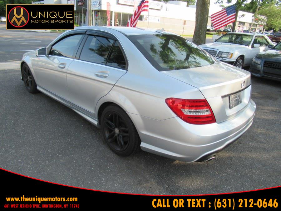 2012 Mercedes-Benz C-Class 4dr Sdn C300 Sport 4MATIC, available for sale in Huntington, New York | Unique Motor Sports. Huntington, New York