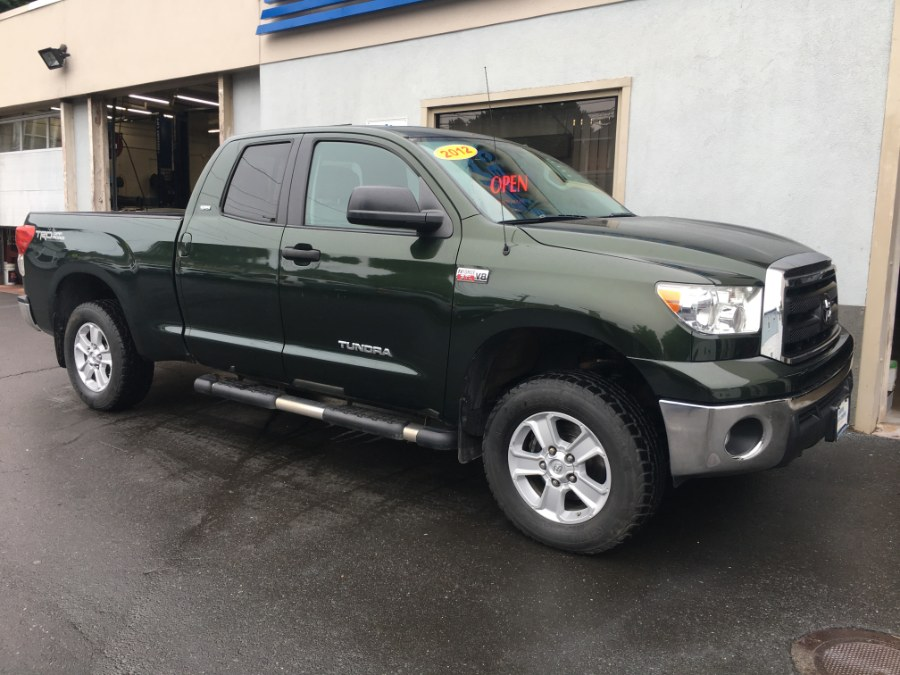 2012 Toyota Tundra 4WD Truck Double Cab 5.7L V8 6-Spd AT (Natl), available for sale in Bristol, Connecticut | Bristol Auto Center LLC. Bristol, Connecticut