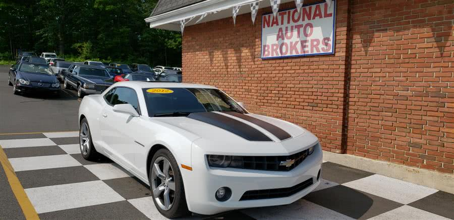 Used Chevrolet Camaro Rally Sport 2dr Cpe 1LT 2012 | National Auto Brokers, Inc.. Waterbury, Connecticut