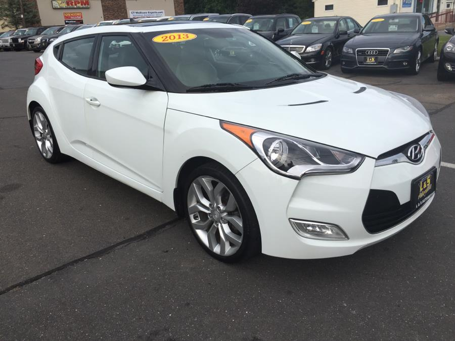 Used Hyundai Veloster 3dr Cpe Man w/Gray Int 2013 | L&S Automotive LLC. Plantsville, Connecticut