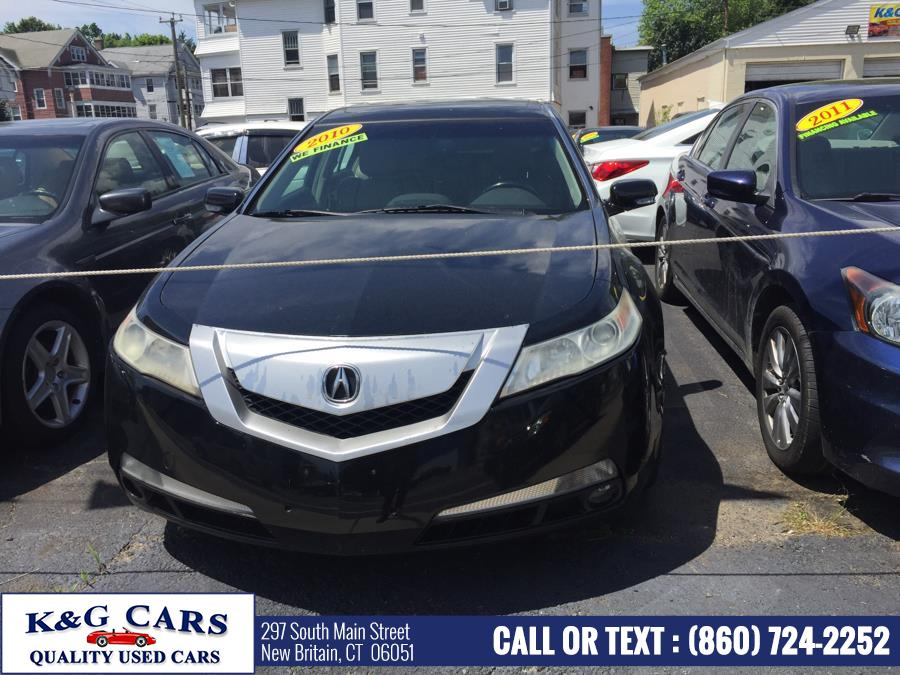 2010 Acura TL 4dr Sdn 2WD Tech, available for sale in New Britain, Connecticut | K and G Cars . New Britain, Connecticut