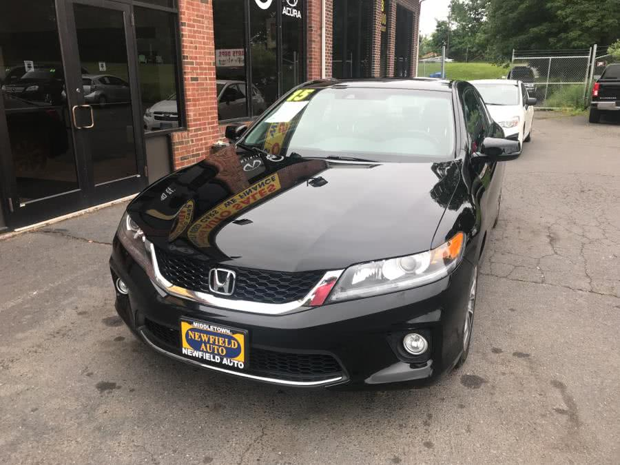 Used Honda Accord Coupe 2dr I4 CVT EX-L w/Navi 2015 | Newfield Auto Sales. Middletown, Connecticut