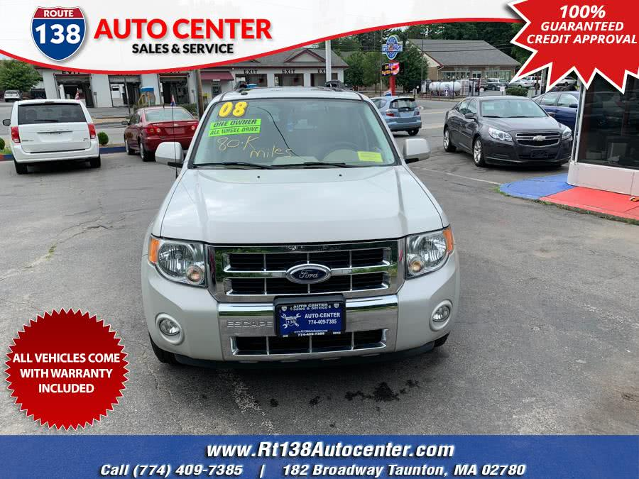 Used 2008 Ford Escape in Taunton, Massachusetts | Rt 138 Auto Center Inc . Taunton, Massachusetts