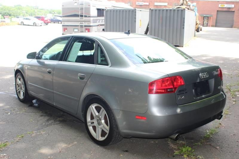 2006 Audi A4 2.0T quattro AWD 4dr Sedan (2L I4 6A), available for sale in Waterbury, Connecticut | Sphinx Motorcars. Waterbury, Connecticut