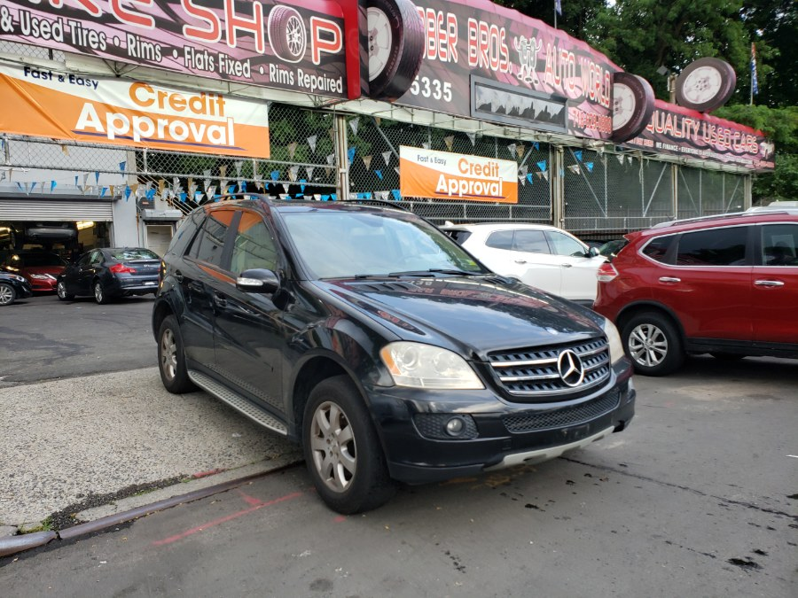 2007 Mercedes-Benz M-Class 4MATIC 4dr 3.5L, available for sale in Brooklyn, New York | Rubber Bros Auto World. Brooklyn, New York