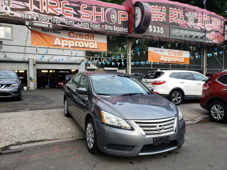 2015 Nissan Sentra 4dr Sdn I4 CVT SR, available for sale in Brooklyn, New York | Rubber Bros Auto World. Brooklyn, New York